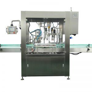 Автоматска машина за полнење и затворање шишиња со капки