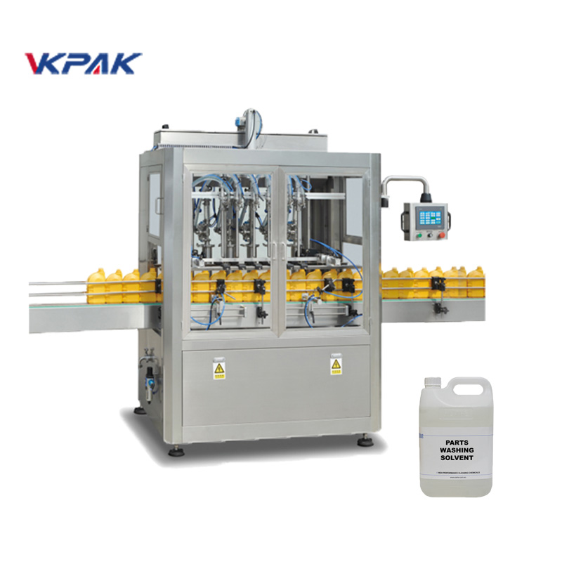 Автоматска машина за полнење со доказ за експлозија за запаливи течности