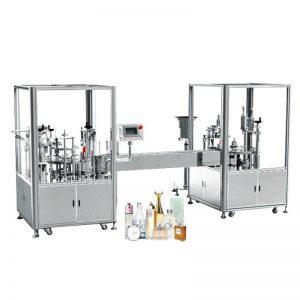 Автоматска машина за полнење и затворање на парфеми
