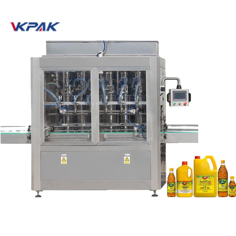 Автоматска машина за полнење течности со клип