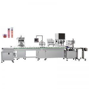 Автоматска машина за полнење и затворање на емулзија на вода
